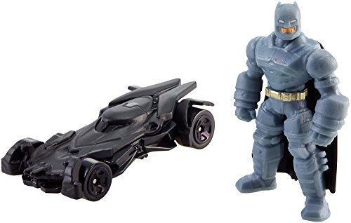 Nice Hot Wheels Batman v Superman: Dawn of Justice Armored Batman Mini Figure & Batmobile supplier