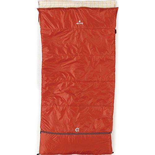 Snow Peak Ofuton Wide Sleeping Bag - Red by Snow Peak