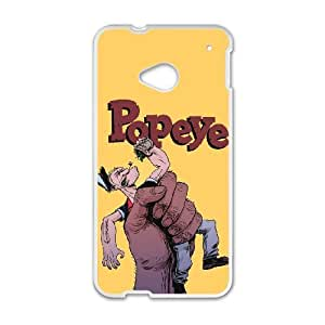 Popeye the Sailor Man For HTC One M7 Custom Cell Phone Case Cover 78II657108