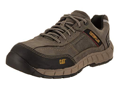 Caterpillar Men's Streamline Leather CT/Dark Gull Grey Work Shoe 8.5 W US
