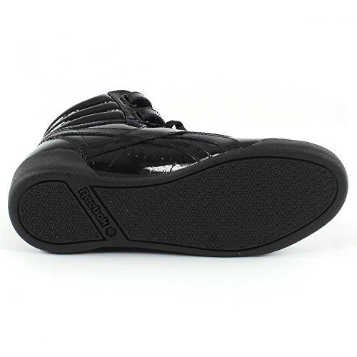 De Femme Hi Reebok Noir Patent Chaussures F s Fitness wXx6qSz