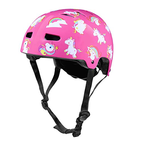 CLISPEED 1pc Kids Helmet Toddler Helmet Sport Protective Gear Head Protector Sports Head Guard Helmet for Boys Girls Safety Skating Scooter Cycling Extreme Activities - Pink