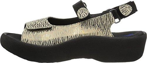 Beige Womens Canals Leather Jewel 1 Denim Sandals 3204 Wolky 0UwzBd0