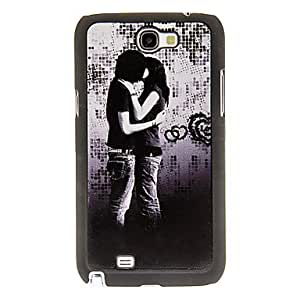 Buy Sweet Couple Pattern Hard Case for Samsung Galaxy Note2 N7100