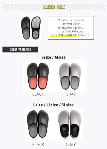 サンダル 2018年グッドデザイン賞受賞 BI×SOLE バイソール クローズド bi sole M・ブラック