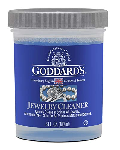Star Sterling Silver Pendant Watch - Goddard's Instant Jewelry Cleaner - 6 oz. Solution