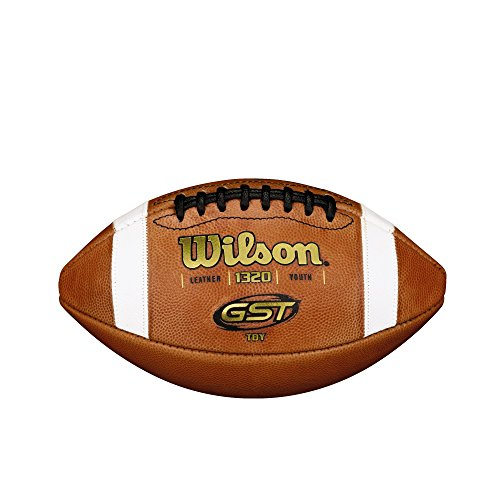 Wilson GST TDY Youth Leather Football WTF1320R