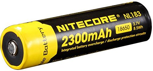 Nitecore 18650 Battery 2300mAH NL183