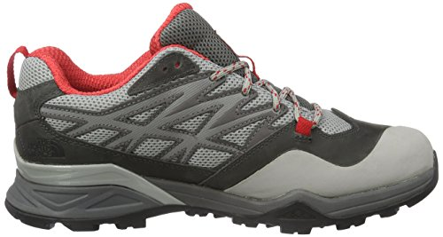 Hike Apn Face Femme Randonnée North Hedgehog Goretex tomato Grey À dark The Basse Red Tige Gris De Grey Chaussures Gull FHwqtnx5SP