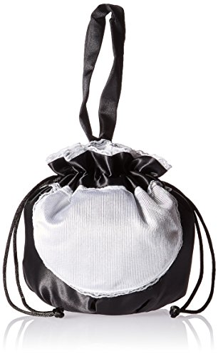 Costume Ideas Halloween Maid (Rasta Imposta French Maid Pouch, Black, One)
