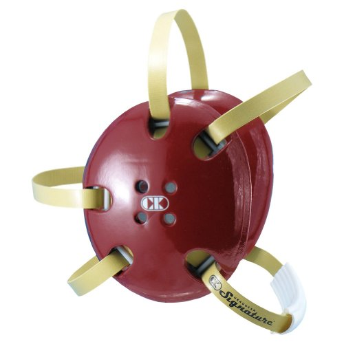 Cliff Keen Two-Tone Signature Wrestling Headgear - COLOR: Maroon/Vegas Gold