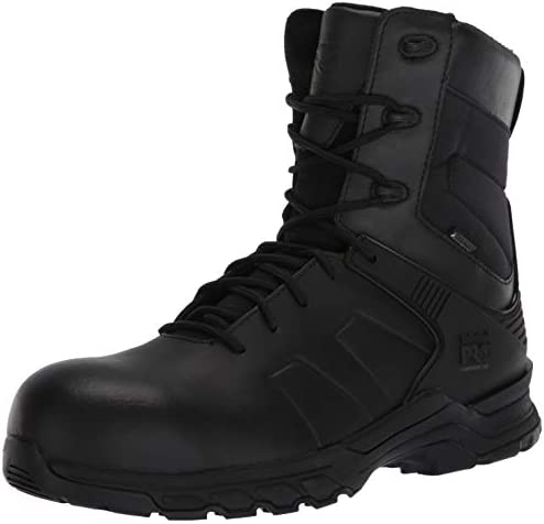 """Men's Hypercharge 8"""" Composite Safety Toe Waterproof Industrial Boot"""