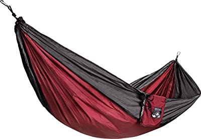 Element Outdoor - Large Hammock. Parachute Camping Hammocks With Camping Equipment included - Stuff Sack, 2 Carabiners, and 2 Tree Straps Included FREE