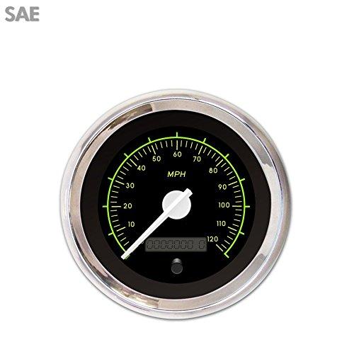 VX Black Speedometer Gauge 3197 Aurora Instruments GAR245ZEXHABCD