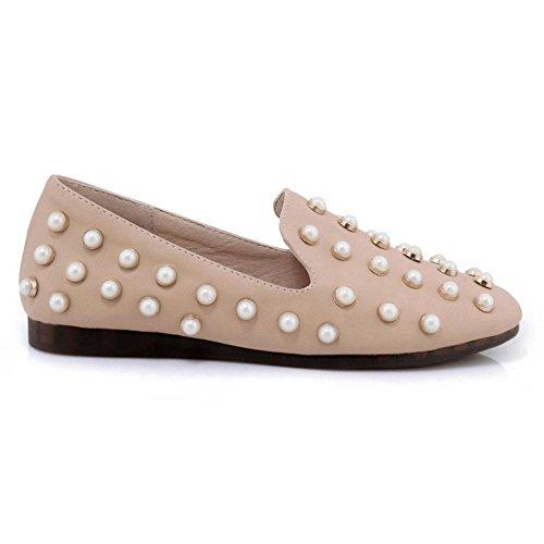 Coolcept Zapatos Moda de Tacon Plano Para Mujer Pink