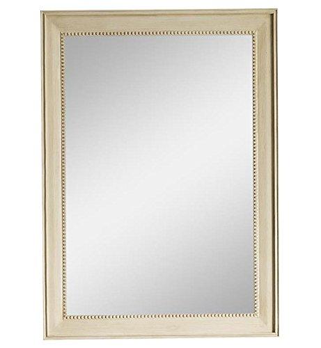 James Martin Vanities 29 in. Rectangular Mirror in Vintage Vanilla - Vanity 40h Bathroom Mirrors