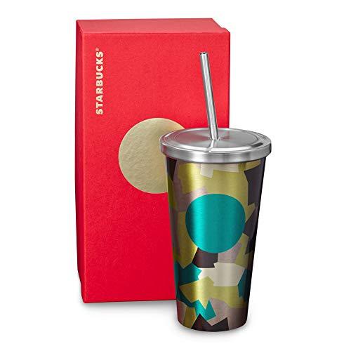 Starbucks Cold Cup Tumbler - Camo, 16 Fl Oz