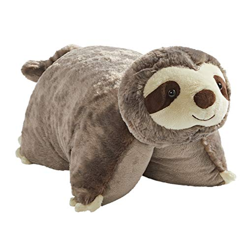 "Pillow Pets Sunny Sloth Stuffed Animal - 18"" Stuffed Animal Plush Toy"