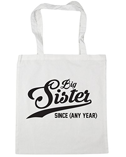 Beach Since Any Big litres Year 42cm White Sister Tote Bag HippoWarehouse 10 PERSONALISED Shopping Gym x38cm qwUxzIntRf