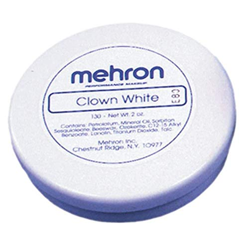 Maquillage De Star Halloween (Mehron Makeup Clown White Professional Makeup (2.25)