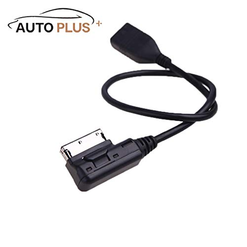 (Jonathan-Shop - Auto Plus Car Cable Music Interface AMI MMI to USB Cable Adapter for Audi A3 A4 A5 A6 A8 Q5 Q7 Q8 VW)