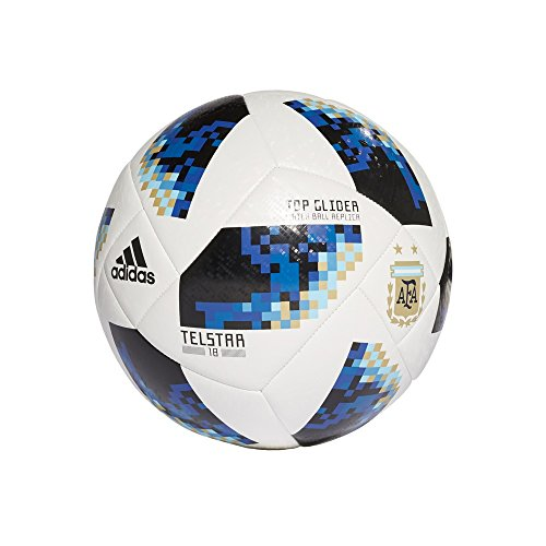 adidas FIFA World Cup Glider Ball White/Black/Silver Metallic, - World Adidas Mens Cup