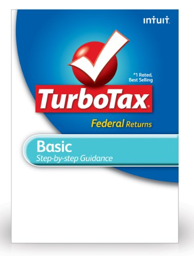 TurboTax Basic Federal + E-File 2012 for PC [Old Version] by Intuit