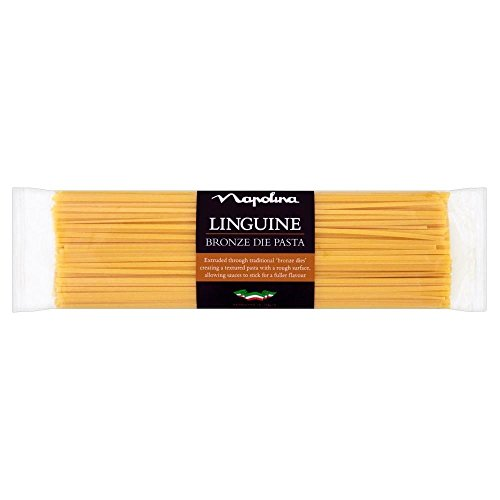 Napolina Bronze Die Linguine (500g) - Pack of 6 by Napolina