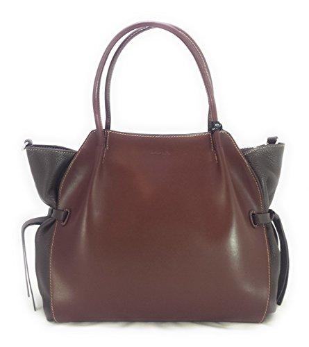 Borsa Shopping bag Cromia Linea Fiore Cod. 1403040 Marrone