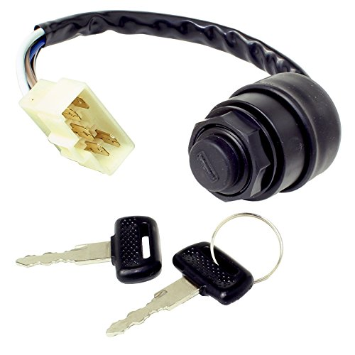 CALTRIC IGNITION KEY SWITCH FITS KAWASAKI MULE 4010 DIESEL 4X4 KAF950F (Kawasaki Mule Diesel)