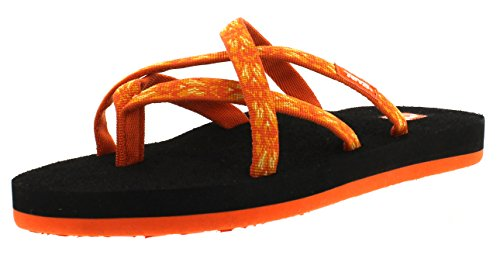 872 Olowahu Teva Femme W's hazel Tongs Orange HaPTfw