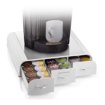 "Mind Reader ""Anchor"" Coffee Pack Drawer for Keurig Vue Packs, Keurig K-Cups, Nespresso Capsules, CBTL/Verismo Pods or Tassimo T-Discs"