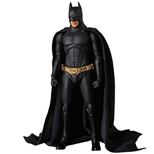 HOLLUK The Dark Night Bruce Wayne Begins Suit Ver. PVC Action Figures Collectible Model Boy's Favorite Toys Doll 18Cm -Multicolor Complete Series Merchandise