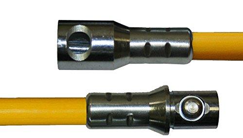 Rutland 60XT-6 Torque Lock Connector 6-Foot Heavy-Duty Fiberglass Extension Rod With .480 in. Diameter