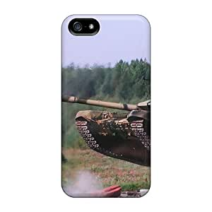 Anti-scratch And Shatterproof Tank Jumping Shooting Phone Case For Iphone 5/5s/ High Quality Tpu Case