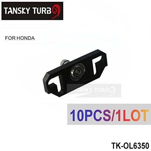 10PC Black Turbo Fuel Rail Delivery Regulator Adapter For Sard Regulator Fit Honda TK-OL6350