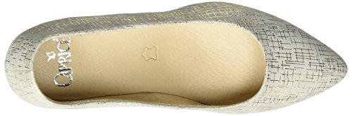 Caprice 22403, Zapatos de Tacón para Mujer Blanco (Offwhite Multi)