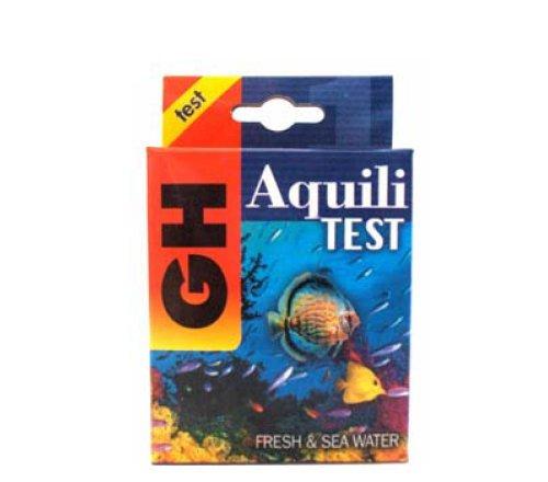 Aquili prueba GH-Kit para la medición de la dureza total en acuarios o dulce marino y decorativa con recarga