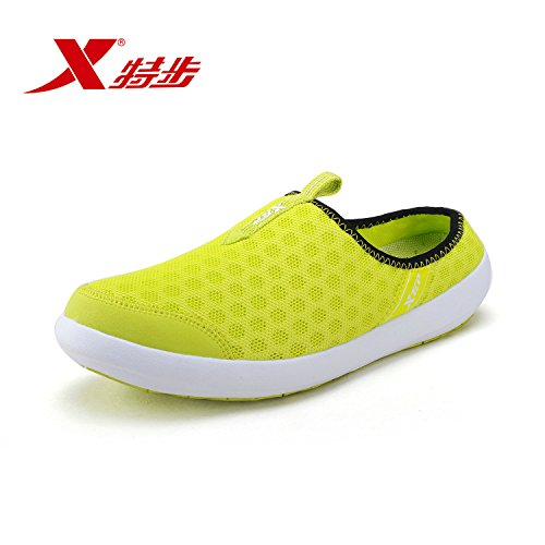 XTEP Mens Sports Shoes Athletic Running Shoes (Green) - 4