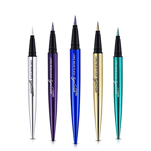 Glitter Diamond Pro Smooth Eyeliner Pen Shimmer Pigmented Eyeshadow Pencil Eye Gel Waterproof Beauty Makeup