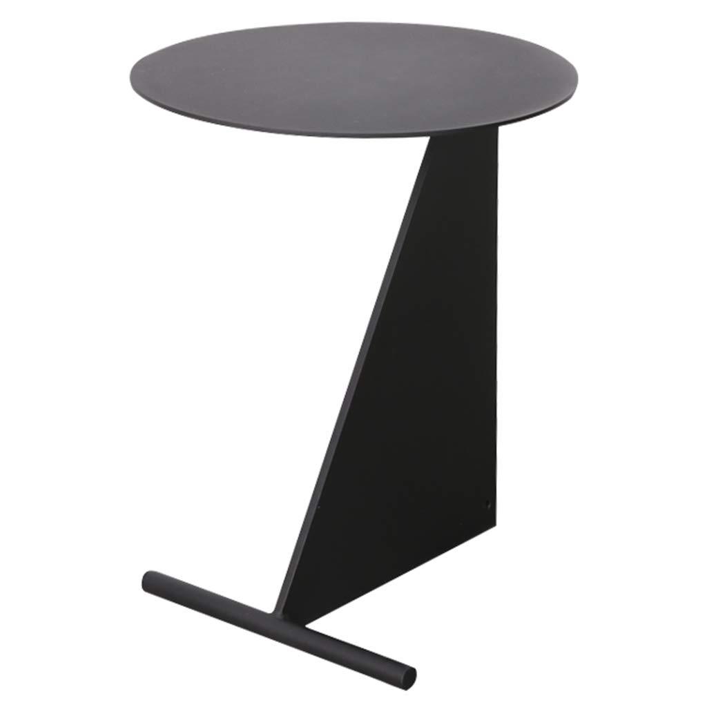 テーブルコーヒーテーブル錬鉄製リビングルームコーヒーテーブルレジャーテーブル多機能テーブル給餌テーブル ガーデンファニチャー (Color : Black, Size : 40 * 50 * 32cm/16 * 20 * 13inch) B07J3XJB4F Black 40*50*32cm/16*20*13inch