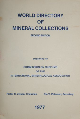 World Directory of Mineral Collections