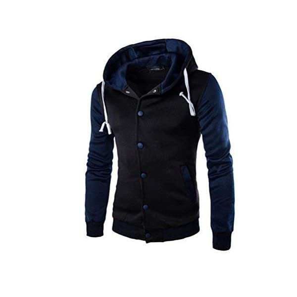 a2308c835 Goddessvan 2017 Mens Jacket Winter Warm Sweater Slim Hoodie Hooded ...