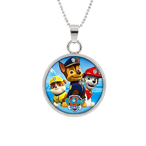 Paw Patrol Pendant Necklace TV Comics Movies Cartoons Superh