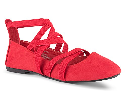 Twisted Womens Suede Strappy Fashion product image