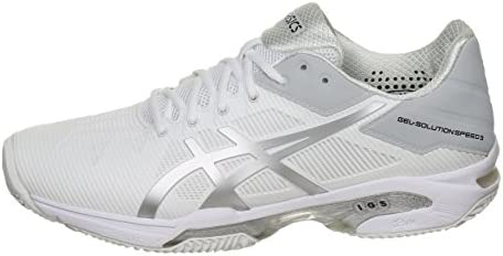 meilleur site web 05785 5db4d ASICS Gel Solution Speed 3 Clay Blanches: Amazon.fr: Sports ...
