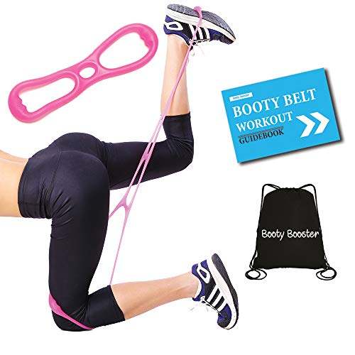 9eac6f008790 Booty Lifting Belt - Booty Training Bands Set with Medium-High Buttocks Resistance  Band -