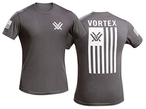 Vortex Optics Patriot T-Shirt Short Sleeve Gray Cotton 2XL