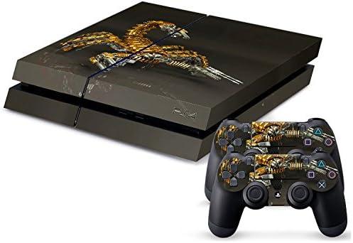 Sony PS4 Playstation 4 Skin Design Foils Pegatina Set - Scorpion Motivo: Amazon.es: Videojuegos