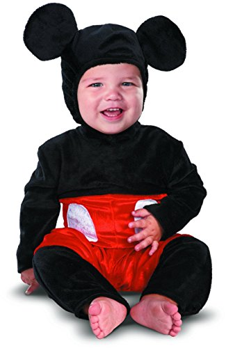 Disney Disguise Costumes Mickey Mouse Prestige Infant, Black/Red/White, 6-12 Months